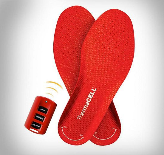 Rechargeable Heated Shoe Insoles