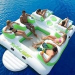 Tropical Tahiti Inflatable Floating Island