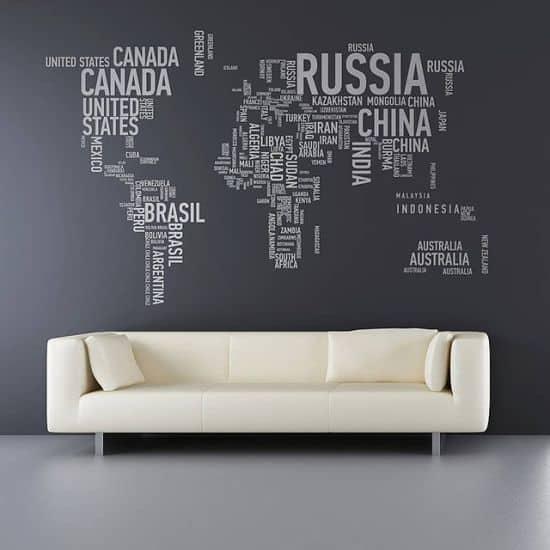 A Different World Wall Sticker
