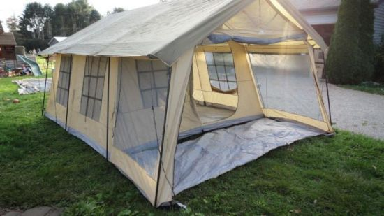 Giant House Shaped Front Porch Tent