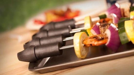Quirky Easy Slide Off BBQ Skewers