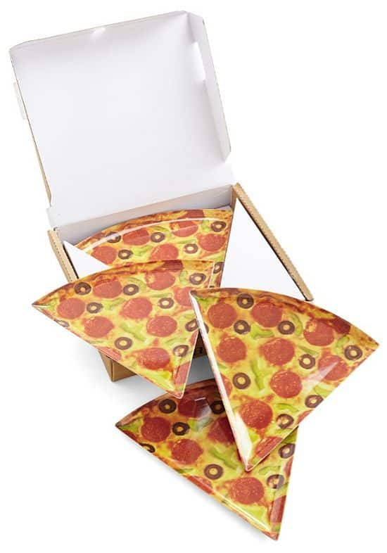 Sliced Perfection- Sliced Pizza Plate Set
