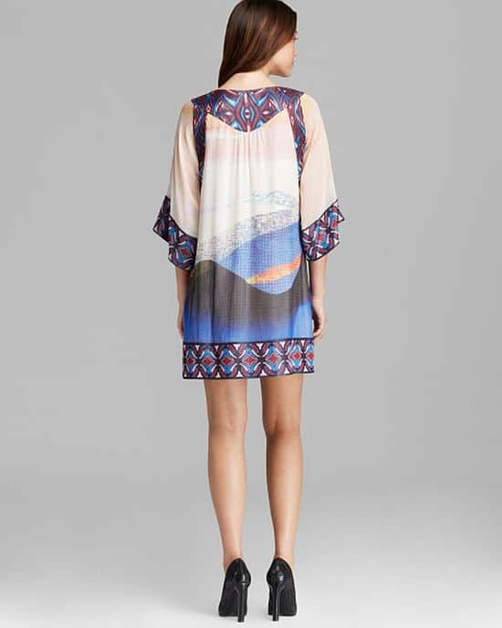 Vail Printed Silk Tunic Dress by Diane von Furstenberg