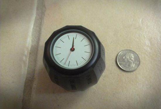 World Clock Barrel