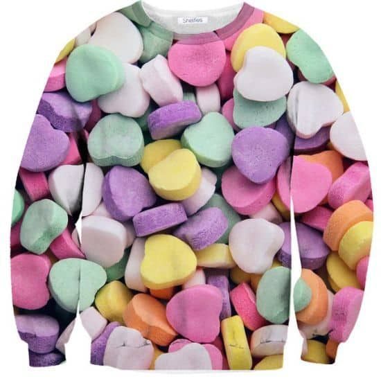 Candy Heart Sweatshirt