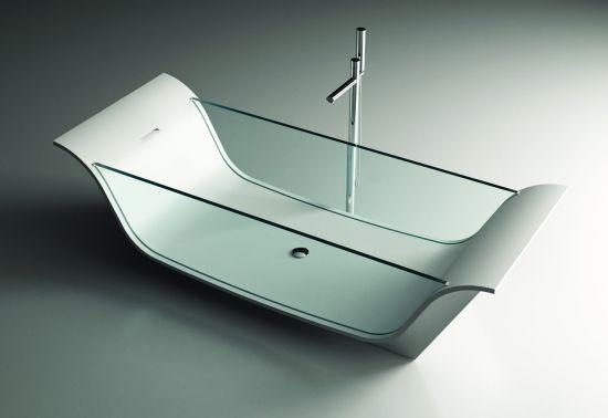 Chaise Longue Vitre Bathtub by Moma Design