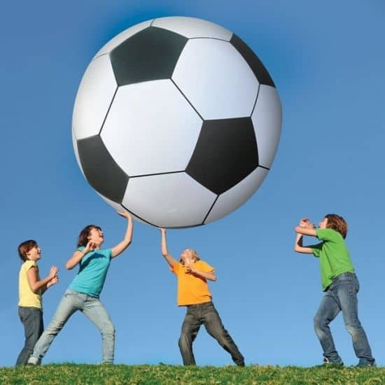 Gigantic 6' Foot Tall Soccer Ball by Big Mouth Toys
