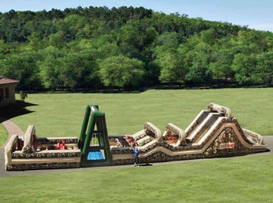 Inflatable Military Obstacle Course