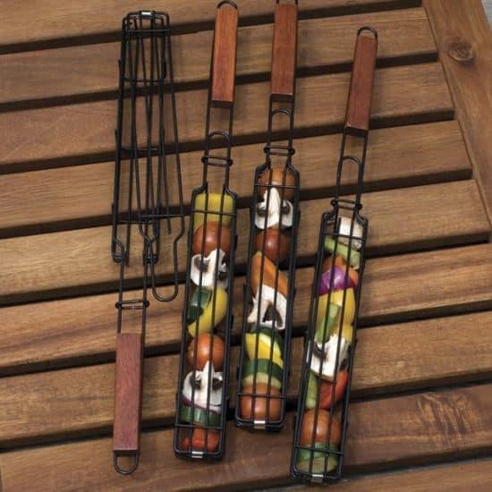Non-Stick Single Kabob Baskets