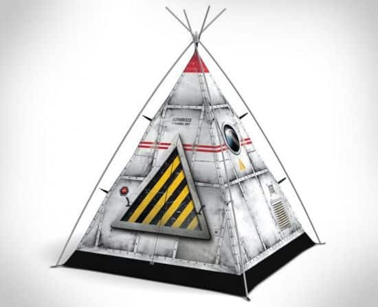 Spaceship Camping Tent For Kids