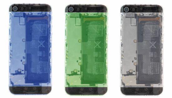 Translucent iPhone 5 Mod Kit