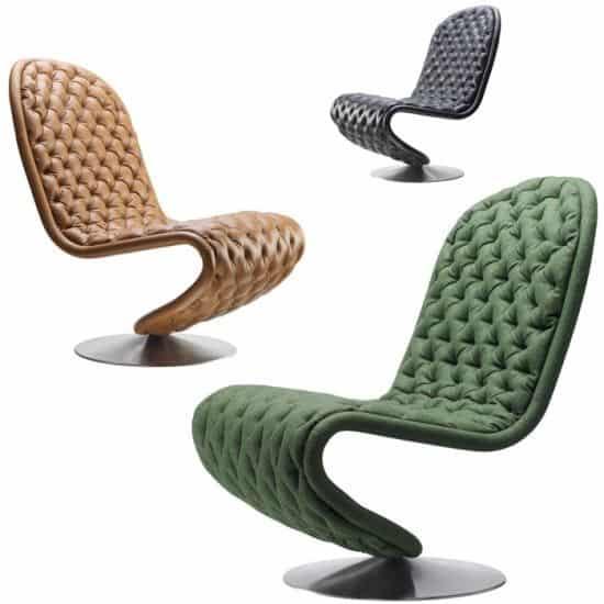 Verpan System De-Lux Low Lounge Chair