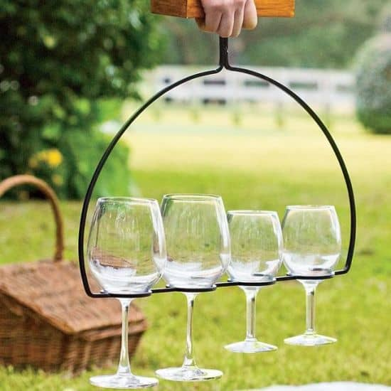 Wine Flight Holder & Server