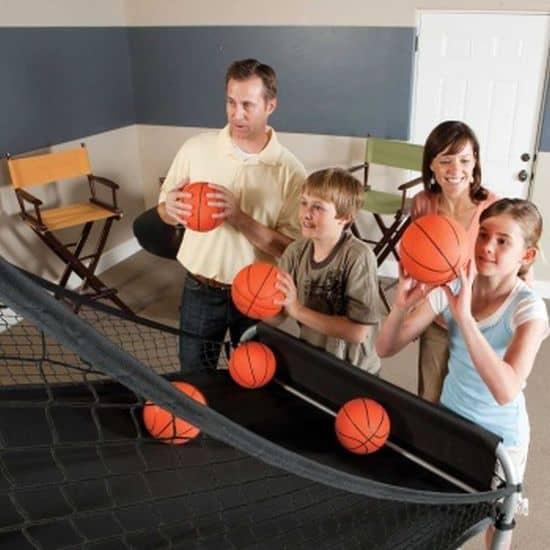 Double-Shot Arcade Basketball System