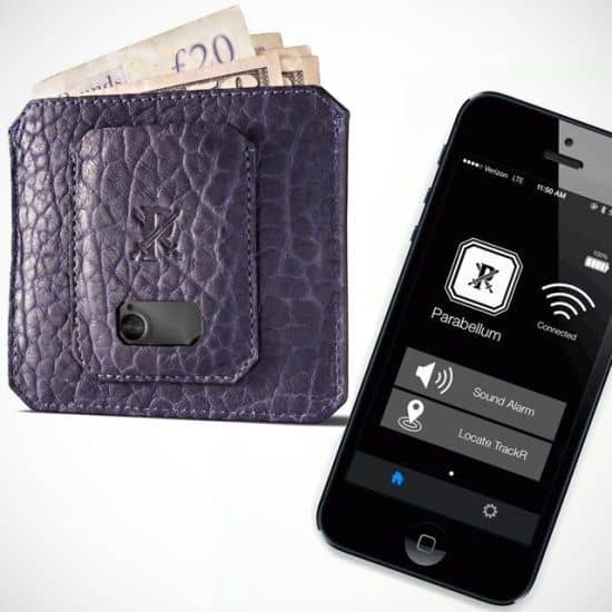 Parabellum Wallet with GPS tracking by TrackR