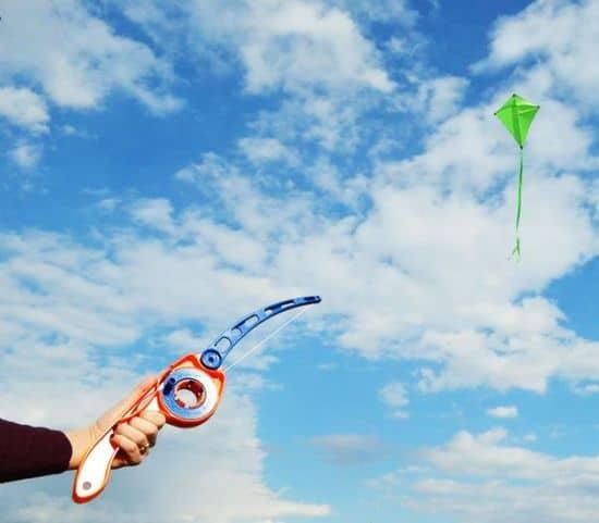 Castakite- Cast Your Kite Like a Fishing Pole