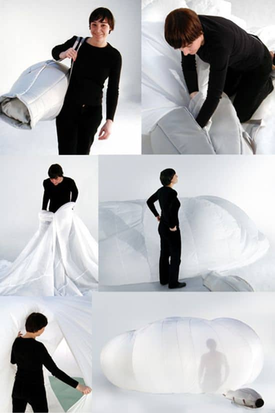 Cloud Inflatable Room by Monica Forster