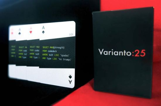 CodeDeck Are Playing Cards For Developers