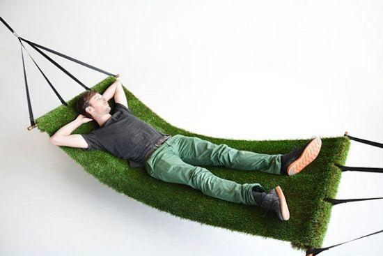 Field Synthetic Grass Hammock