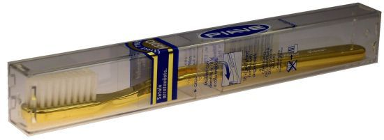 Gold-Plated Toothbrush