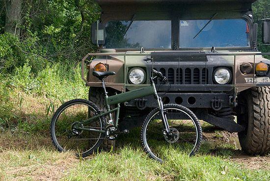 Montague Paratrooper Folding Bike