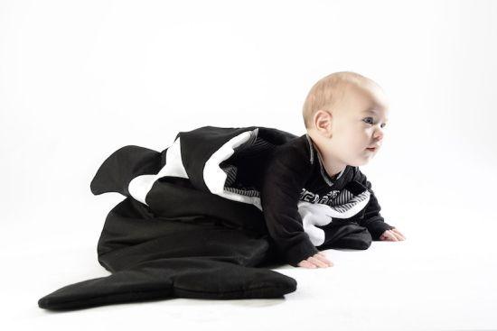 Orca Sleeping Bag by Baby Bites