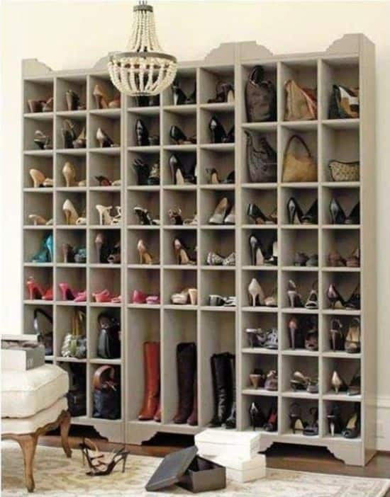 Sarah Shoe Storage Tower