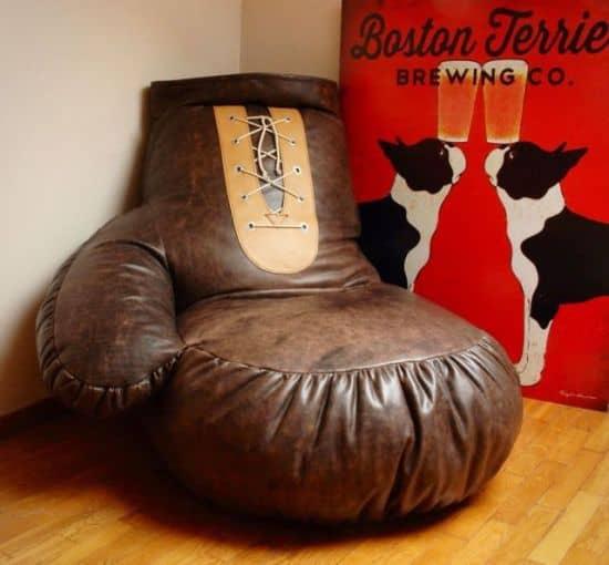 Giant Boxing Glove Bean Bag Chair