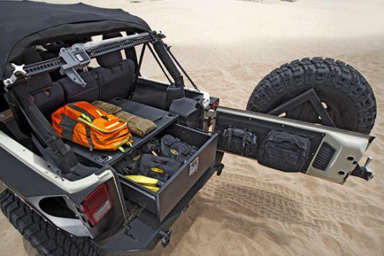 Smittybilt Jeep Storage Vault