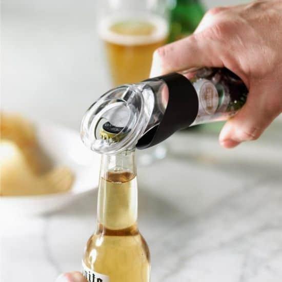 Trudeau- Bottle Opener That Catches The Cap