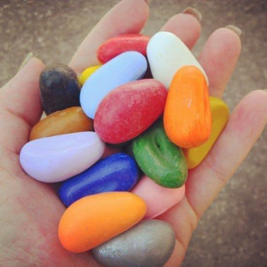 Crayon Rocks 16 Colors
