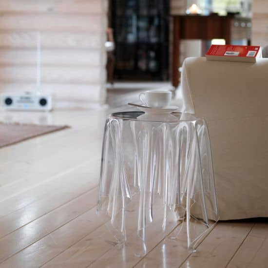 Illusion Ice Side Table