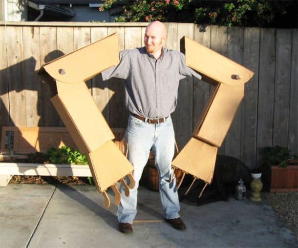 Как сделать из картона руку робота