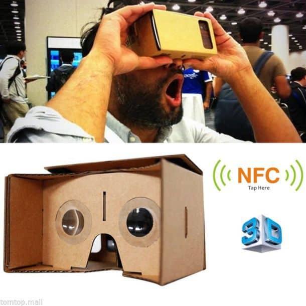 Очки виртуальной реальности своими руками для компьютера 55