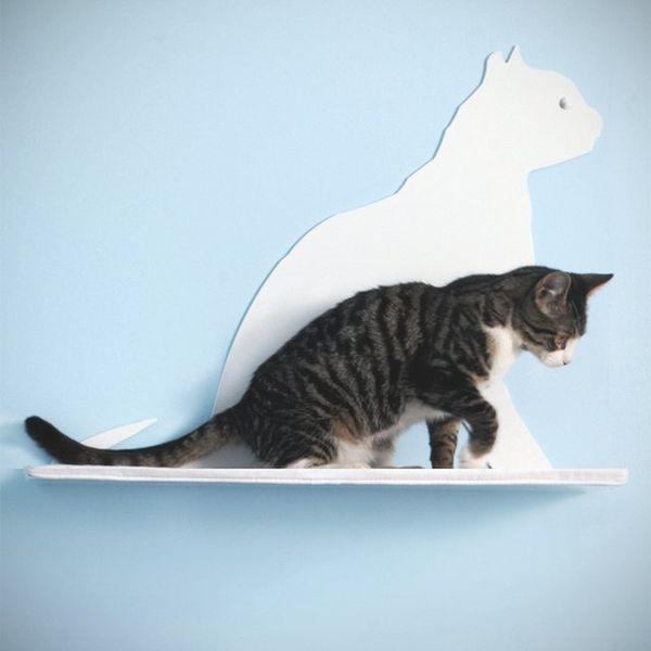 Настенная полка «Кошка»