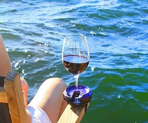 Универсальный держатель винных бокалов Bella D'Vine