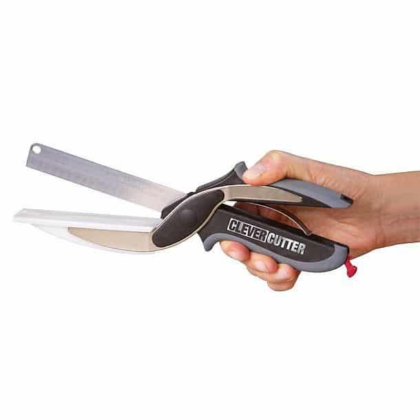 Умный кухонный нож 2 в 1