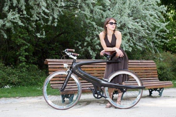 Футуристический велосипед Ecce Opus